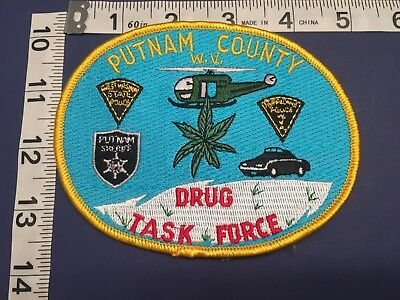 Putnam County  West Virginia Drug Task Force  Shoulder Patch