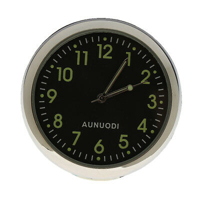 Fluorescent Car Dash Analog Time Clock Instrument Gauge