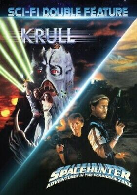 Krull / Spacehunter (80's Sci-Fi Double Feature) [New DVD]