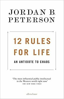 12 Rules for Life: An Antidote to Chaos by Peterson, Jordan B. Book The Cheap