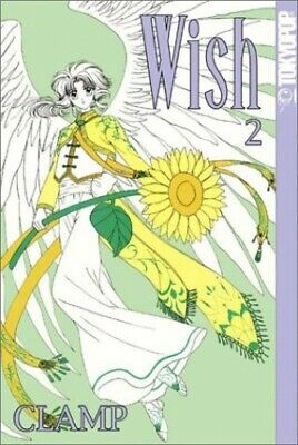Wish - volume 2 [ English Language ] by CLAMP Paperback Book The Cheap Fast Free