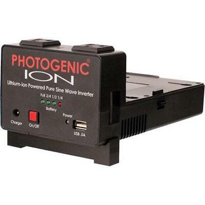 Photogenic ION Lithium-ion Powered Pure Sine Wave Inverter - without Battery
