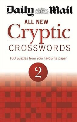 Daily Mail: All New Cryptic Crosswords 2 (The Daily Mail Puzzle B...