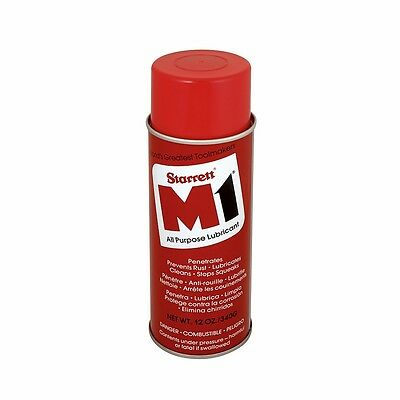 Starrett M1 All Purpose Lubricant / Oil - 12OZ Aerosol