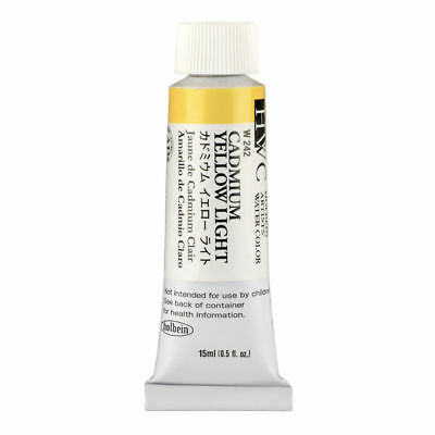 HOLBEIN ARTISTS COLORS WATERCOLOR 15ML Cadmium Yellow Light HBW242 NEW