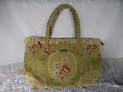 Lovely April Cornell Large Tapestry Tote Travel Bag