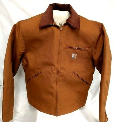 Carhartt J001 Detroit Jacket  BROWN LARGE(42-44) [CBX#15-J001]  READY TO SHIP