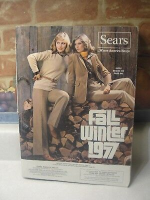 Vintage 1977 Sears Fall & Winter Catalog.1559 Nice Pages,department Store