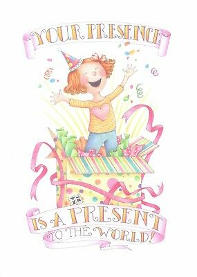 Mary engelbreit your presence is a present to world happy birthday mary engelbreit your presence is a present to world happy birthday card new bookmarktalkfo Image collections