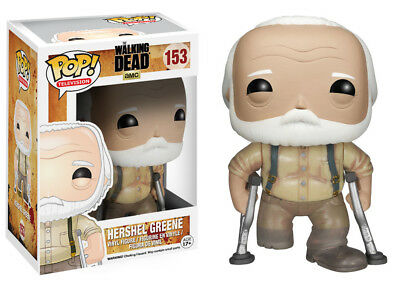 Funko Pop TV Walking Dead Hershel Greene Vinyl Action Figure Collectible Toy