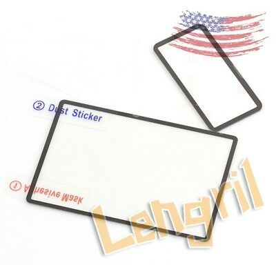 US GGS Self-Adhesive Optical Glass LCD Screen Protector FOR Canon 7D Mark II