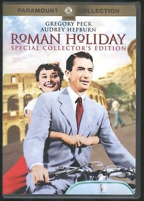 Roman Holiday (DVD, 2002, Collector's Edition) Gregory Peck, Audrey Hepburn
