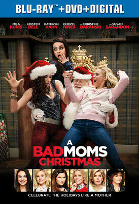 A Bad Moms Christmas [New Blu-ray] With DVD, 2 Pack, Digitally Mastered In Hd
