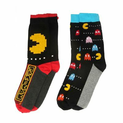 licence officielle homme Pac-Man assortis chausettes Pack 2