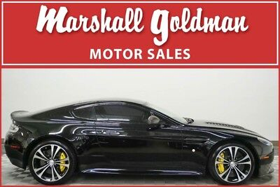 2015 Aston Martin Vantage S Hatchback 2-Door 2015 V12 Vantage S, Jet Black/Black, 9500 miles, LOTS of carbon!