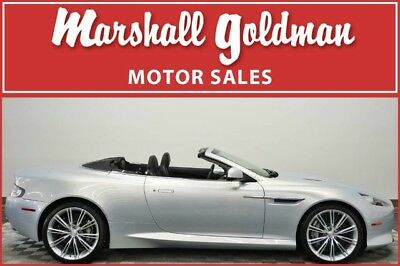 2012 Aston Martin Other Volante Convertible 2-Door 2012 Aston Martin Virage Volante Lightning Silver w/Obsidian Black  5,400 miles