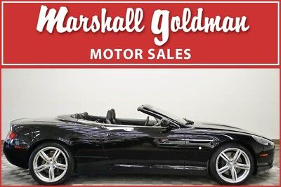 2008 Aston Martin DB9 Volante Convertible 2-Door 2008 Aston Martin DB9 Volante Jet Black over Obsidian Black lthr and 9,500 miles