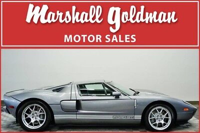 2006 Ford Ford GT Base Coupe 2-Door 2006 Ford GT Tungsten Grey Metallic Ebony 4 opt BBS MacIntosh Stripes 964 miles