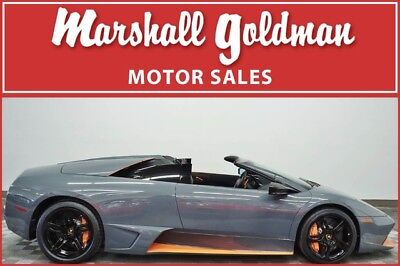 2010 Lamborghini Murcielago  2010 Lamborghini Murcielago LP 650-4 Roadster no. 49 of 50 built, 179 miles!!