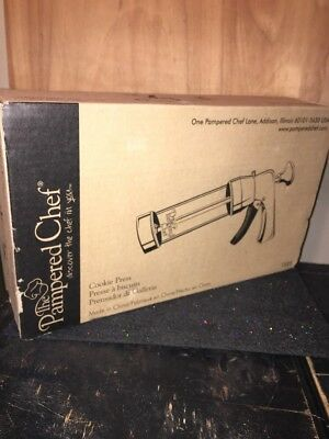 The Pampered Chef Cookie Press 1525 Barely Used.