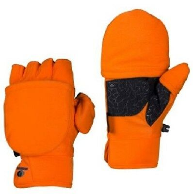 7105d7f88c78c NEW Mens Mossy Oak Thinsulate Insulated Glomitts Gloves Orange Blaze Camo  PopTop