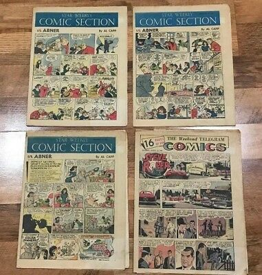 Toronto Star & More!! From 1959-1977 Newspaper Comics Approx 45 Comics!!