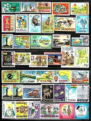 GHANA Assorted Stamps Lot of 41