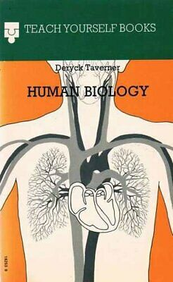 Human Biology (Teach Yourself Books) by Taverner, Deryck Paperback Book The