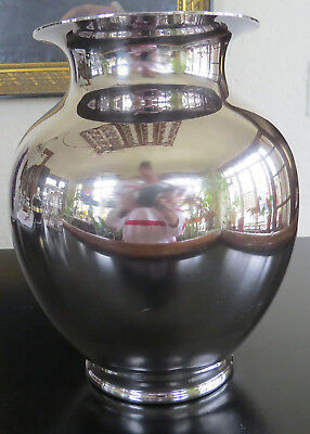 """Vintage Reed and Barton 5074 Silver Plated Vase 7.5"""""""