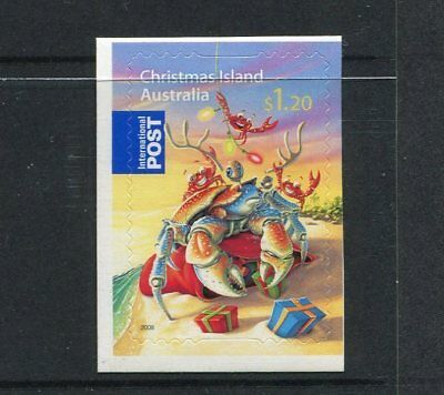 2008 Christmas Island Christmas - $1.20 International Booklet Stamp