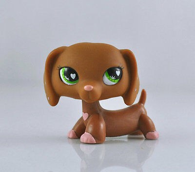 Pet Dachshund Dog Collection Child Girl Boy Figure Littlest Toy Loose LPS826