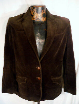 e354c149 KENNY ROGERS Western Collection CIRCLE S De Ball Velvet Vtg Jacket Womens  Med