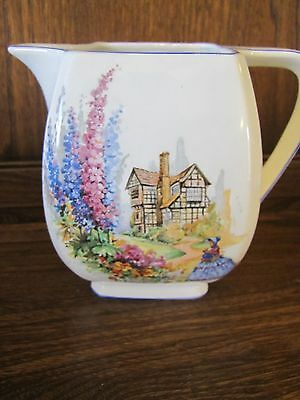 1920's?Lancaster&Sandland L&Sons Ltd~Home Sweet Home~2 pint Large Jug 15cms tall