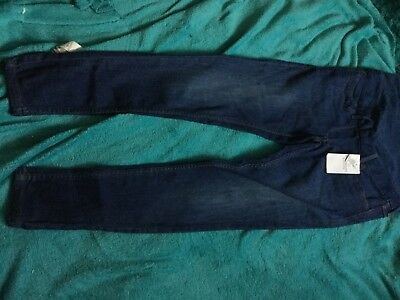 Marks And Spencer Ladies Indigo Maternity Jeans Size 10 Eur 38 New With Tags