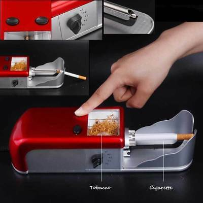 Cigarette Rolling Machine Electric Automatic Tobacco Roller Injector Maker wow