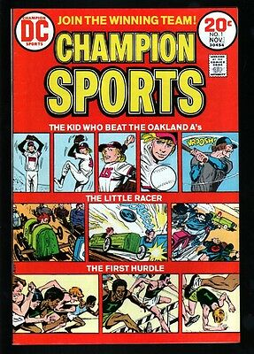 Champion Sports 1 9.2 Nm 1973 Dc White Paper High Grade