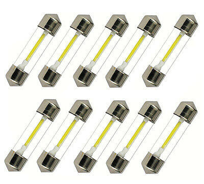10x 36mm LED Soffitte COB SMD Canbus C5W Innenraumbeleuchtung 12V Deutsche Post