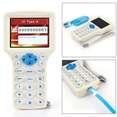 Newest Frequency Copy Encrypted NFC Smart Card RFID Copier ID/IC Reader Writer #
