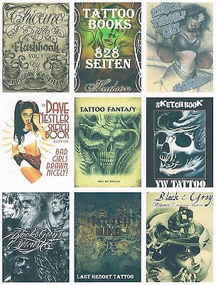 Tattoovorlagen - 12 Books