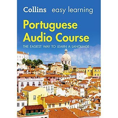 Easy Learning Portuguese Audio Course: Language Learnin - Audio CD NEW Collins D