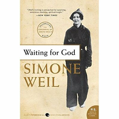Waiting for God - Paperback NEW Weil, Simone 2009-04