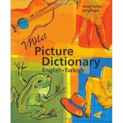 Milet Picture Dictionary: Turkish-English (Milet Pictur - Hardcover NEW Turhan,