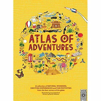 Atlas of Adventures: A Collection of Natural Wonders, E - Hardcover NEW Lucy Let