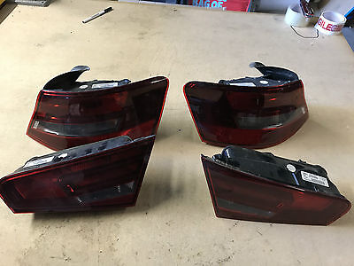 2015 AUDI A3 S3 RS3 8V - Set of Rear Lights - Fits Sportback