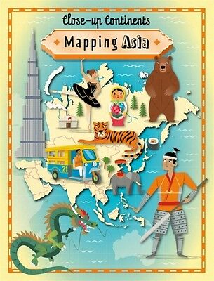 Mapping Asia (Close-up Continents) (Paperback), Rockett, Paul, 9781445141169