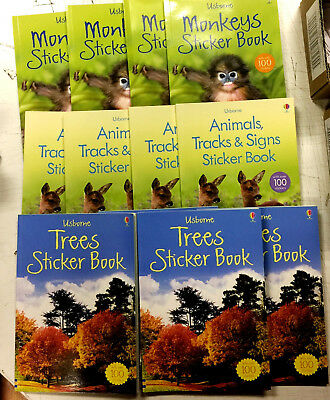 12 x Wholesale Tracks & Signs Kids Stickers Learning Stories Books Party Bags