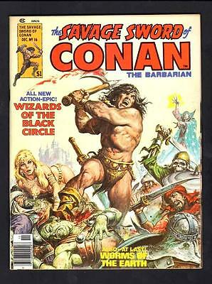 Savage Sword Of Conan 16 9.2 Near Mint 1976 Marvel Buscema Simonsonwp High Grade