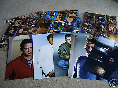 CSI Miami, Star Trek and Xena trading cards and photographs in sleeves etc