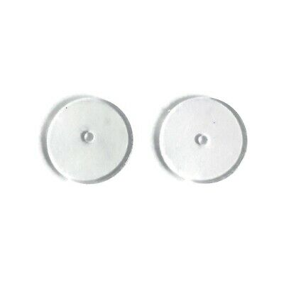 Ear Lift Earring Support, Magic Backs, Plastic Disk Earring Lifters - 50 pairs