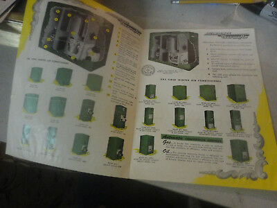 Vintage Milwaukee Thermoflo 1200 Series Finest in Gas Fired Air Condition Ad